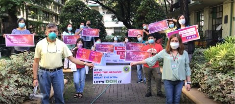 The Philippines:  The Department of Health led a World NTD Day walk to highlight messages on NTDs